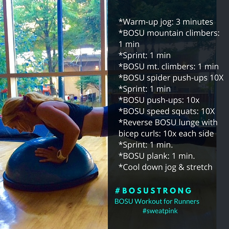 I Have Always Been A Big Proponent Of The Bosu Balance Trainer It Instantly Adds Challenge To Any Workout And Encourages Core Enement
